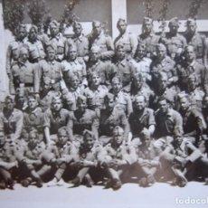 Militaria: FOTOGRAFÍA SOLDADOS DEL EJÉRCITO NACIONAL. GUERRA CIVIL. Lote 82785600