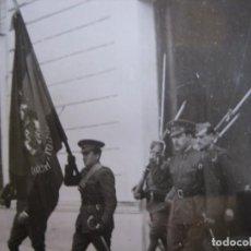 Militaria: FOTOGRAFÍA TENIENTE PROVISIONAL DEL EJÉRCITO ESPAÑOL. ABANDERADO. Lote 82854388