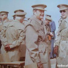 Militaria: FOTOGRAFIA DEL GENERAL MILAN DEL BOSCH CON OTROS MILITARES. GRAN FORMATO.. Lote 83039144