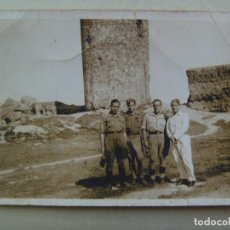 Militaria: GUERRA CIVIL : FOTO DE MILITARES Y MILICIANOS NACIONALES. SEVILLA. Lote 84417788