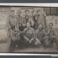 Militaria: GRUPO DE MILICIANOS ESPAÑOLES EN MADRID. CIEZA, MURCIA. 1936-1940. FOTÓGRAFO DESCONOCIDO.. Lote 84685412