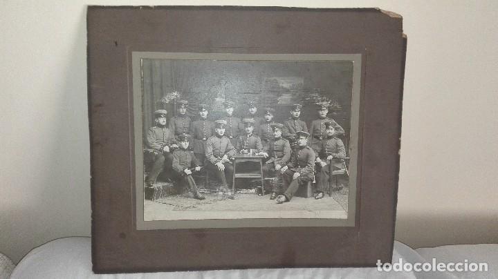 FOTOGRAFÍA DE GRUPO MILITAR. ALEMAN (Militar - Fotografía Militar - I Guerra Mundial)