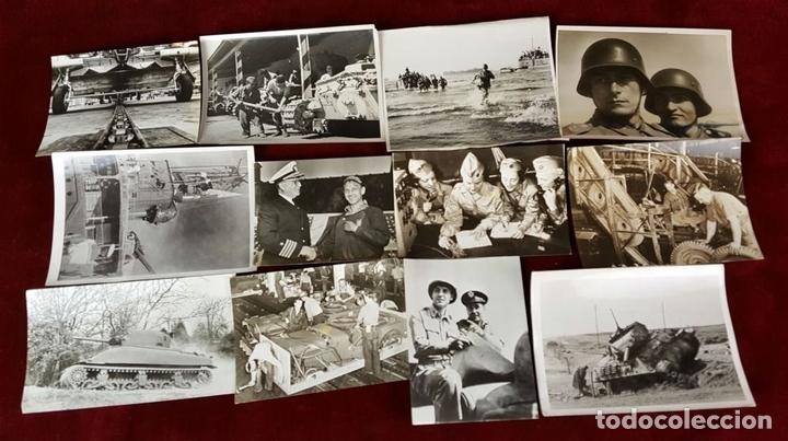 Militaria: FONDO FOTOGRAFICO. 202 INSTANTANEAS. 2ª GUERRA MUNDIAL. DOCUMENTADAS. 1939/1945. - Foto 2 - 84727628