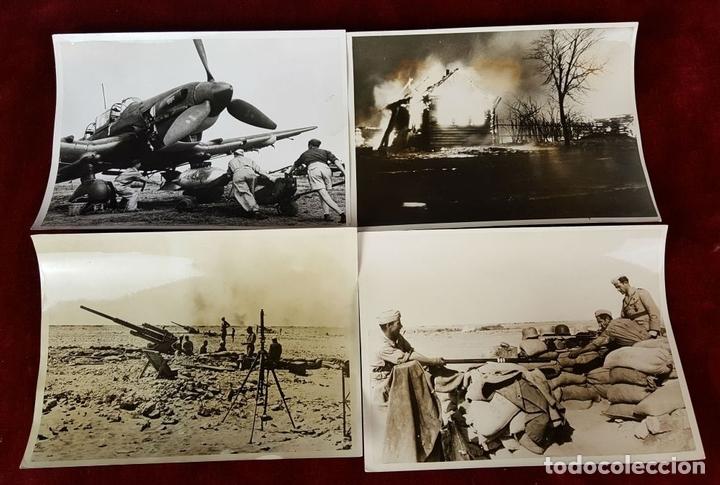 Militaria: FONDO FOTOGRAFICO. 202 INSTANTANEAS. 2ª GUERRA MUNDIAL. DOCUMENTADAS. 1939/1945. - Foto 4 - 84727628