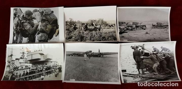 Militaria: FONDO FOTOGRAFICO. 202 INSTANTANEAS. 2ª GUERRA MUNDIAL. DOCUMENTADAS. 1939/1945. - Foto 7 - 84727628