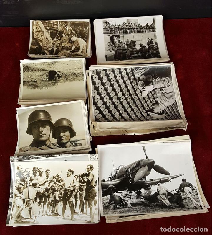 FONDO FOTOGRAFICO. 202 INSTANTANEAS. 2ª GUERRA MUNDIAL. DOCUMENTADAS. 1939/1945. (Militar - Fotografía Militar - II Guerra Mundial)