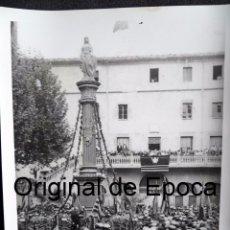 Militaria: (JX-170438)FOTOGRAFÍA VISITA DE EL PRESIDENT DE LA GENERALITAT,LLUÍS COMPANYS A RIPOLL,REPUBLICA. Lote 85058720
