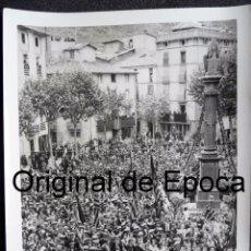 Militaria: (JX-170440)FOTOGRAFÍA VISITA DE EL PRESIDENT DE LA GENERALITAT,LLUÍS COMPANYS A RIPOLL,REPUBLICA. Lote 85059364