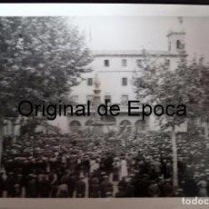 Militaria: (JX-170445) FOTOGRAFÍA VISITA DE EL PRESIDENT DE LA GENERALITAT,LLUÍS COMPANYS A RIPOLL,REPUBLICA. Lote 85060688