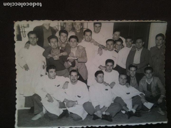 GRUPO DE SANITARIOS Y SOLDADOS HOSPITAL MILITAR DE PALMA DE MALLORCA (Militar - Fotografía Militar - Otros)