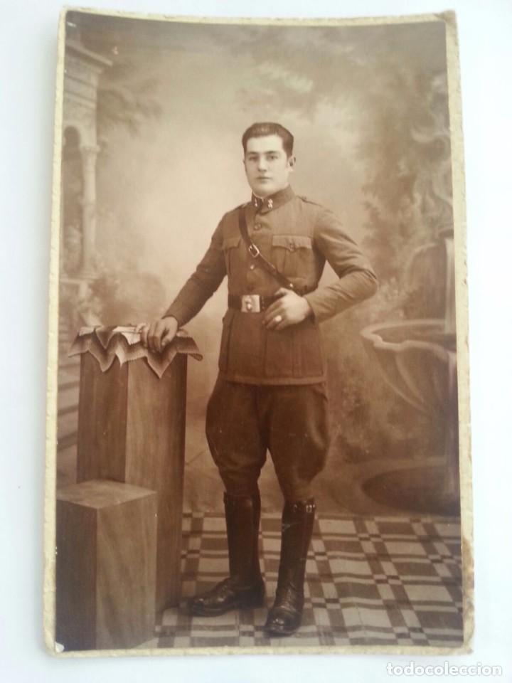 FOTO FOTOGRAFIA MILITAR SOLDADO GUERRA CIVIL (Militar - Fotografía Militar - Guerra Civil Española)