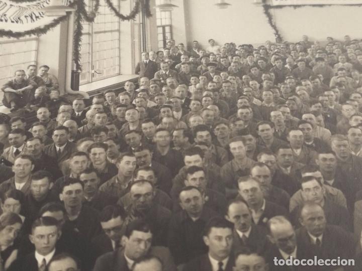 Militaria: Antigua fotografía Alemana - Meeting o discurso politico - años 30 aprox. - Foto 2 - 86029804