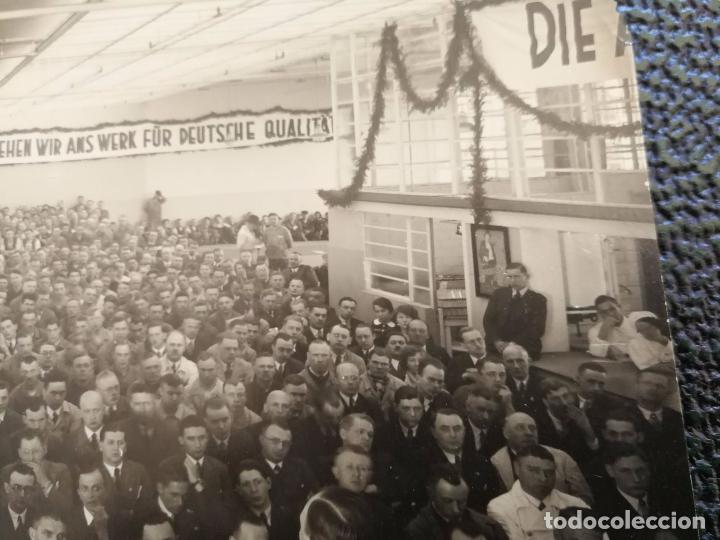 Militaria: Antigua fotografía Alemana - Meeting o discurso politico - años 30 aprox. - Foto 4 - 86029804