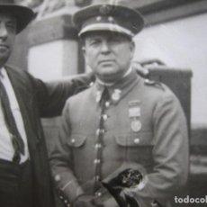 Militaria: FOTOGRAFÍA TENIENTE CUERPO DE SEGURIDAD. ALFONSO XIII. Lote 86113992