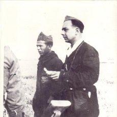 Militaria: CAPITAN DIEGO NAVARRO COLUMNA DE HIERRO CONQUISTA AZAILA(TERUEL) GUERRA CIVIL. Lote 86396904