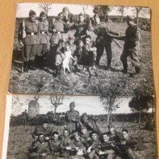 Militaria: ANTIGUAS FOTOGRAFIAS MILITARES MILITAR EJERCITO ESPAÑOL. Lote 86957236
