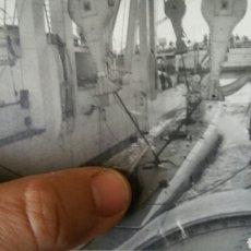 Militaria: SENSACIONAL FOTOGRAFÍA DEL AÑO 192 7 DE SUBMARINO ESPAÑOL DESPUÉS DE INMERSIÓN DE 42 METROS. Lote 87115050