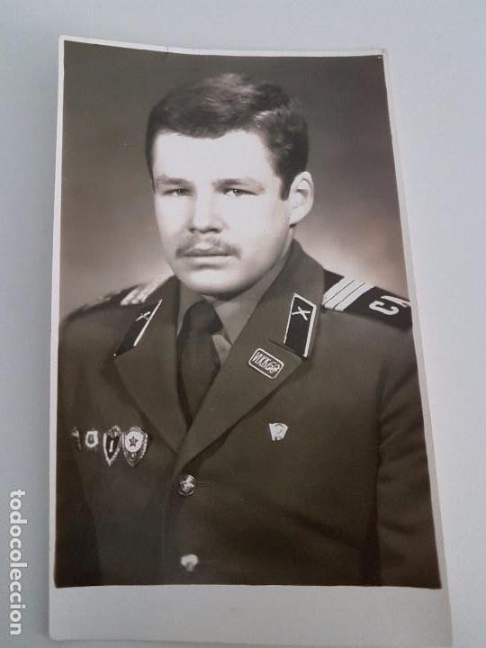 FOTOGRAFÍA OFICIAL RUSO (Militar - Fotografía Militar - II Guerra Mundial)