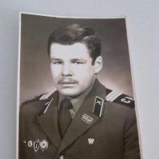Militaria: FOTOGRAFÍA OFICIAL RUSO. Lote 87167816