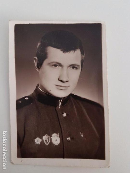 FOTO OFICIAL RUSO (Militar - Fotografía Militar - II Guerra Mundial)