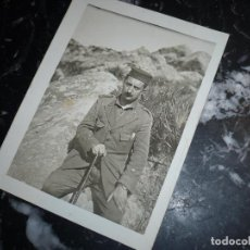 Militaria: FOTOGRAFIA EN AFRICA DEL MILITAR CELESTINO MUGA ,13 JUNIO 1926 ,XER-ARBAA. Lote 87183948