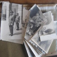 Militaria: LOTE 25 FOTOGRAFIAS MILITARES - MILITAR - FOTO - FOTOGRAFIA - ALGUNOS MUY CONDECORADOS - VER TODAS. Lote 87441076