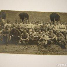 Militaria: GRUPO DE MILITARES E.S.O. 1924 . FR. VAN CAMP 49, VAN GEERTSTRAAT, BORGERHOUT, BELGICA. Lote 87562220