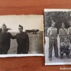 Militaria: FOTOS DE MILITARES ESPAÑOLES DE AVIACIÓN. CUATRO VIENTOS. Lote 87576324