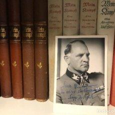 Militaria: FOTOGRAFÍA DE JOSEF DIETRICH. ADOLF HITLER TERCER REICH NSDAP FUHRER,NAZI. Lote 87890372
