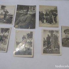 Militaria: * LOTE 7 FOTOGRAFIA DE MILICIAS REPUBLICANAS DE VALENCIA. GUERRA CIVIL. ZX. Lote 88288140