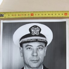 "Militaria: FOTO HERBERT N. HOUCK (1915-2002) COMANDANTE DEL PORTAAVIONES ""SHANGRI-LA"". Lote 88830182"