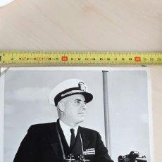 Militaria: CAPITAN DE NAVIO BROOKE SCHUMM MEDIDAS 25X21. Lote 88830948