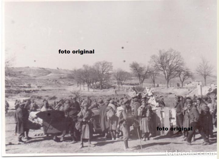 TROPAS MORAS EN EL FRENTE DEL EBRO PLENA GUERRA CIVIL ESPAÑOLA (Militar - Fotografía Militar - Guerra Civil Española)