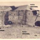 Militaria: MILICIAS ANTIFASCISTAS VILLAFRANCA DEL PENEDES GUERRA CIVIL HIJAR(TERUEL) CTV. Lote 89498768