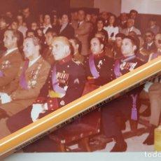 Militaria: INTERESANTE FOTO DE UN GRUPO DE JEFES Y OFICIALES VETERANOS DE LA DIVISIÓN AZUL Y GUERRA CIVIL. . Lote 89512372