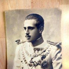 Militaria: JAIME DE BORBÓN Y BATTENBERG , JAIME IV DE ESPAÑA JEFE CARLISTA, 26X34 CMS.. Lote 89559348