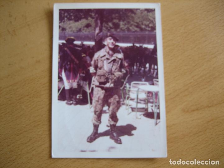 Militaria: Fotografía paracaidista Brigada Paracaidista BRIPAC. Traje de salto M-61 - Foto 2 - 89785520