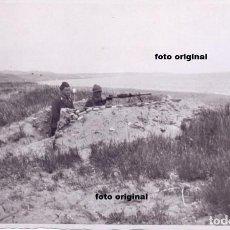 Militaria: TRINCHERA COSTA VASCA FIAMME NERE GUERRA CIVIL CTV ITALIANOS 1937. Lote 89815152