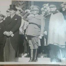 Militaria: FRANCO,LOTE DE FOTOS ORIGINALES VIAJE A PORTUGAL, AÑOS 50,OLIVEIRA SALAZAR.... Lote 90211970
