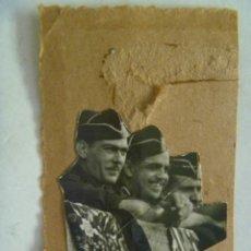 Militaria: GUERRA CIVIL : JEFES DE FALANGE EN LOS TOROS . SEVILLA, 1936. Lote 90305504