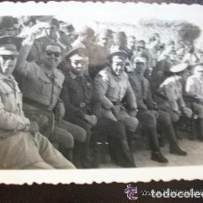 Militaria: FOTO MILITAR : OFICIALES DE REGULARES . MELILLA. Lote 90390376