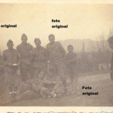 Militaria: SAN ASENSIO(LOGROÑO) LLEGADA DEL CTV ITALIANO GUERRA CIVIL. Lote 90654395
