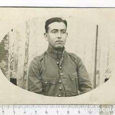 Militaria: FOTOGRAFÍA MILITAR SARGENTO EPOCA DE ALFONSO XIII. Lote 90890805