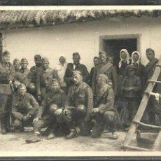 Militaria: 2 ª GUERRA MUNDIAL (ALEMANIA) GRUPO DE SOLDADOS ALEMANES 1941 - 12 X 9 CM. Lote 91333755