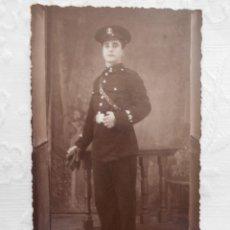 Militaria: FOTOGRAFIA SOLDADO INFANTERIA DE MARINA AÑOS 20 O 30. Lote 91446165