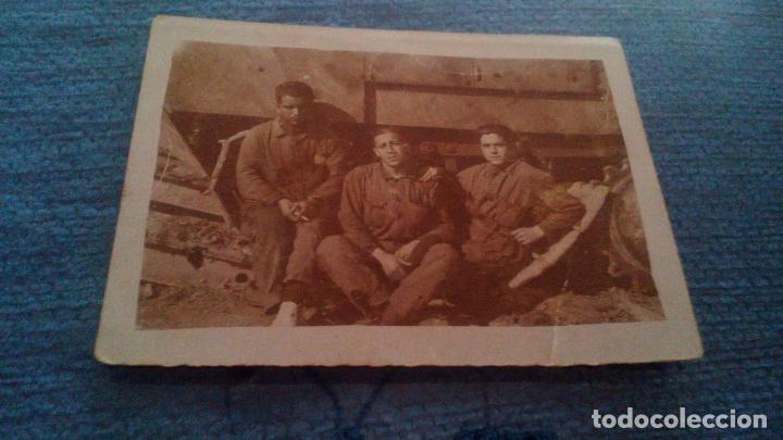 soldados en carro combate ejercito colonial espanol en marruecos mehal la tafersit