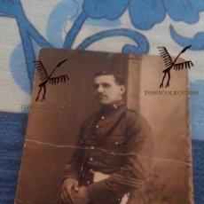 Militaria: SARGENTO REGIMIENTO DE ARTILLERIA Nº5 - 1922 - FOTOGRAFIA DE RICARDO SANZ (CAMPANA Nº3 - SEVILLA). Lote 91561885