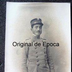 Militaria: (JX-170712)POSTAL FOTOGRAFICA DE D.CELESTINO MUGA CON UNIFORME DE CADETE DE INFANTERIA. Lote 91712095