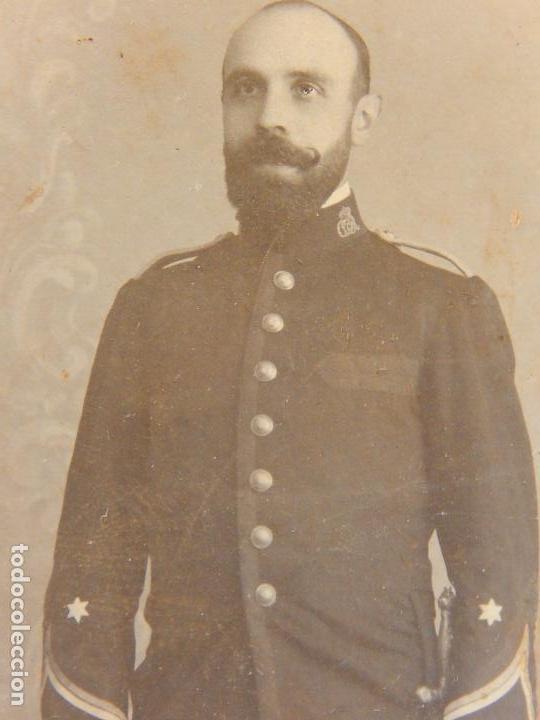 Militaria: Fotografía antigua de un militar español. - Foto 3 - 91886360