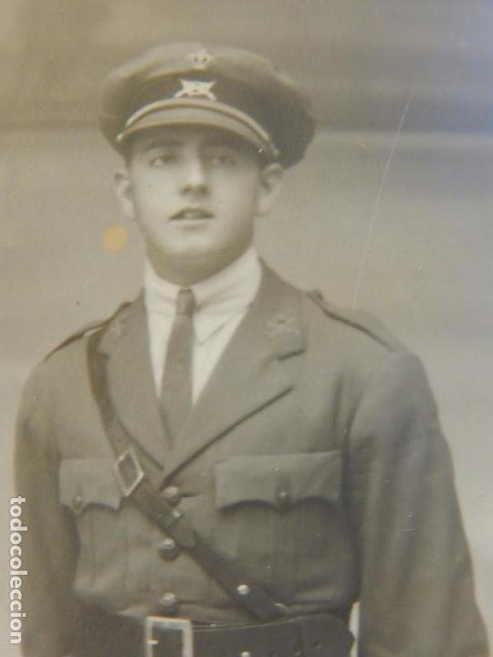Militaria: Fotografía antigua de un militar español. - Foto 3 - 91887110